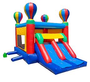 Inflatable Bounce House with Slides in New Jersey