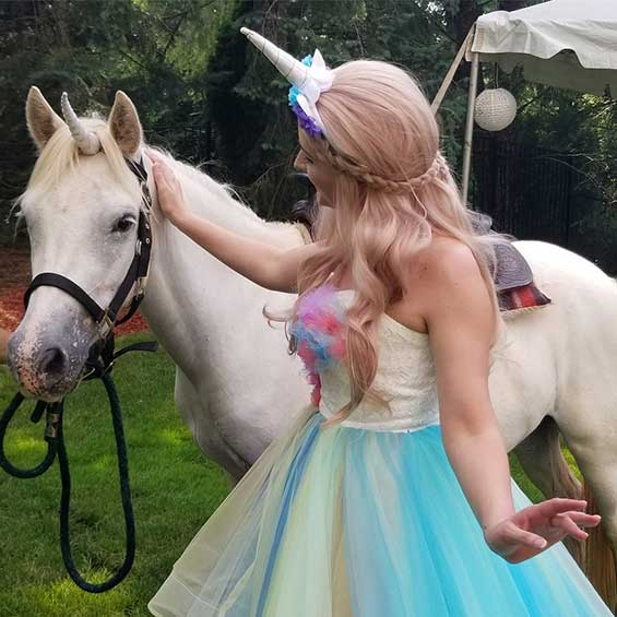 Unicorn Rental for Princess Party in NJ
